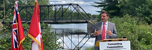 MP Mendicino Bracebridge municipal infrastructure funding announcement, August 16th 2019